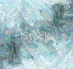 Abstract oil nature painting