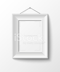 white frame for your photo or picture