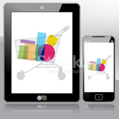Tablet PC and Smart Phone online shopping