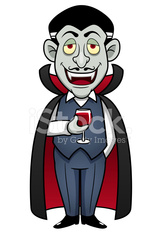 Cartoon Count Dracula