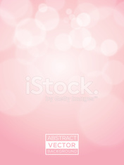Pink abstract Vector Bokeh Background soft focus