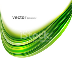 abstract green bright colorful technology wave whit background