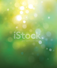 Vector green lights  background.