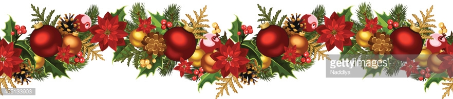 Vector illustration of Christmas seamless background