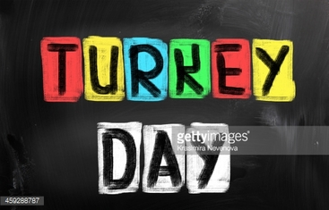 Turkey Day Concept