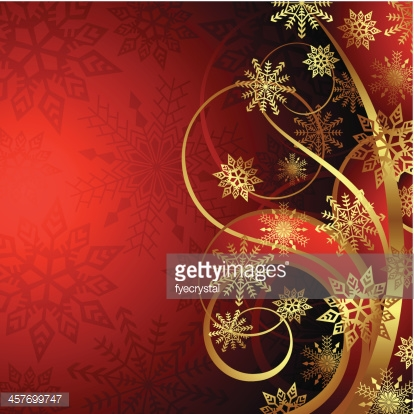 Abstract Christmas Red Background