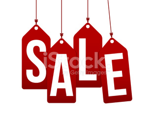vector sale tags background