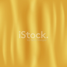 Golden Fabric Background. Vector Illustration