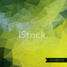 Trendy Abstract Geometric Hipster Background