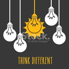 Light Bulb Design, Vector illustration