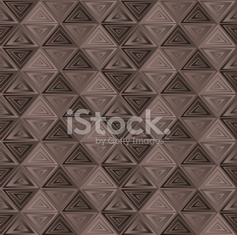 brown triangle background