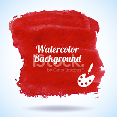 Watercolor abstract background vector illustration