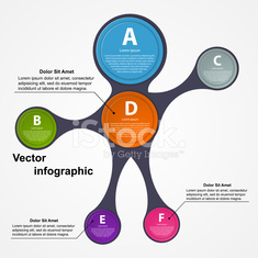 Abstract paper infographic