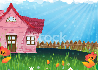 Small rural house