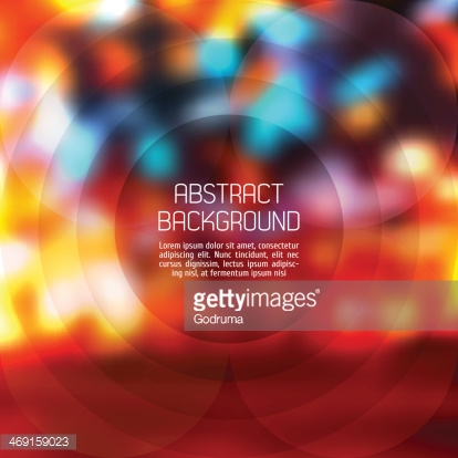 Abstract background. Vector Blurry Lights