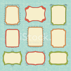 Hand-Drawn vector frames