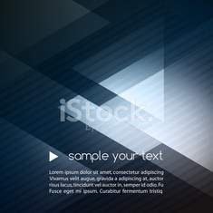 Elegant Geometric Blue Background