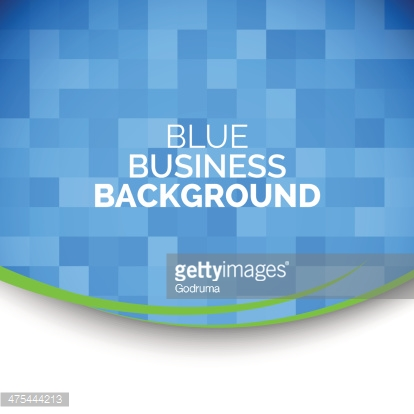 Abstract 3D business blue background.