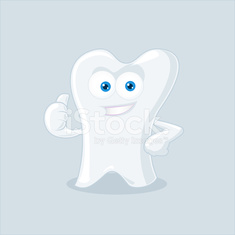 Tooth Mascot Vector Illustration
