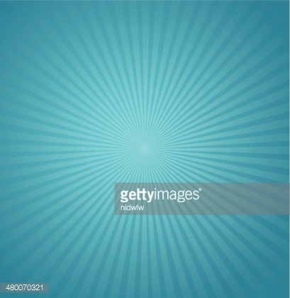 Blue rays background. Burst Vector illustration