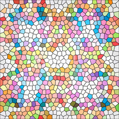 abstrack colorful mosaic background