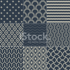 seamless geometric textured pattern