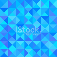 Abstract Blue Background with Triangle Shape. Vector
