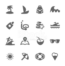Sea Travel icons