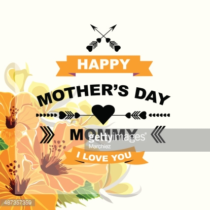 Poster Happy mother's day.