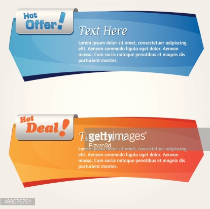 Vector Web Banner Design