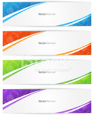 Vector Web Design Banner