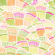 Seamles spring background pattern