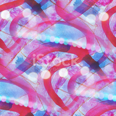 colorful blue, pink pattern water texture paint abstract seamles