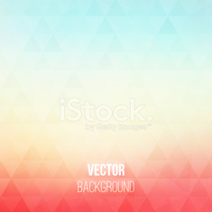Colorful geometric vector background with triangles