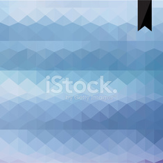 geometric background made of triangles