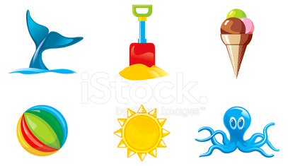 summer activities 2 - icons