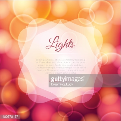 Bright glowing background