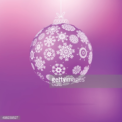 Christmas ball from snowflakes. + EPS8