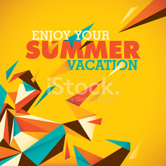 Colorful summer background with abstraction.