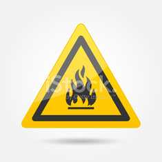 Fire attention icon
