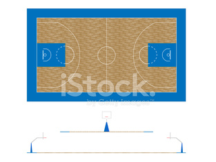 Basketball Court 2 Plan and Sections