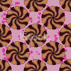 Pattern with abstract element