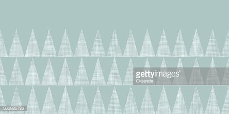 Abstract silver gray fabric textured triangles horizontal seamless pattern background