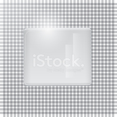 Gray background, plastic plate