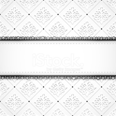 Classic background with ornament and strip