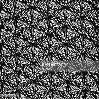 abstract black and white vector decoration pattern background