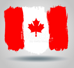 Flag of the canada