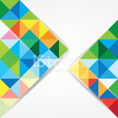 Triangle abstract design