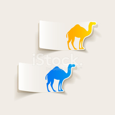 realistic design element: camel