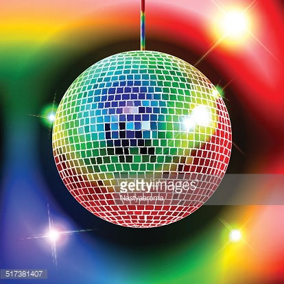 Color disco ball stock photos for Disco ball coloring page